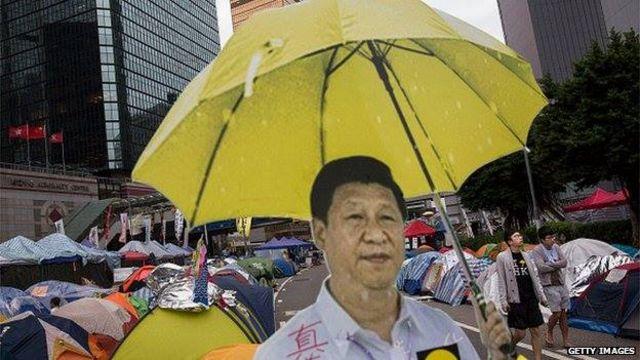 Ông Tập giải quyế̉t gọn khủng hoảng ở Hong Kong trong năm 2014