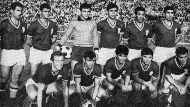 تیم ملی ایران برای اولین بار در جام ملتهای آسیا ۱۹۶۸ در تهران با پیروزی ۲ بر یک مقابل اسرائیل قهرمان این رقابتها شد