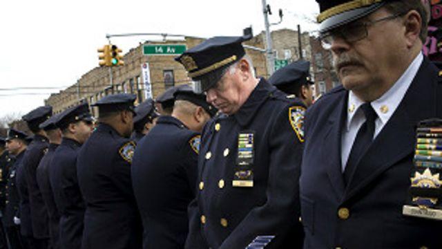 Las relaciones entre la policía y los ciudadanos en lugares como Nueva York se han visto enturbiadas.