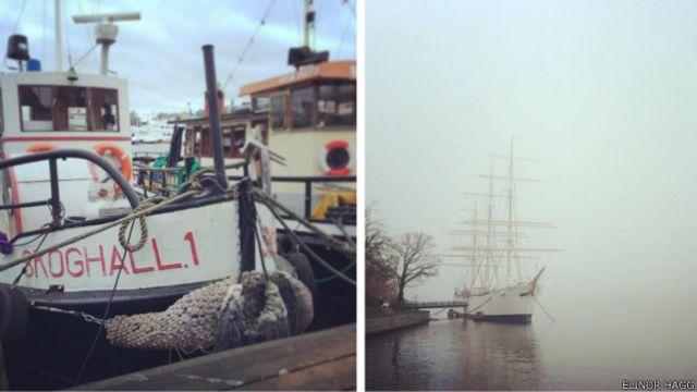 Barcos en Estocolmo