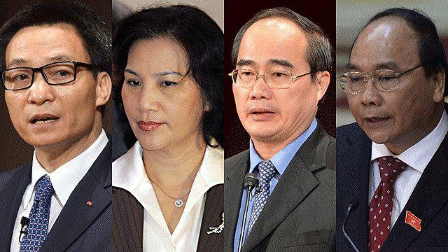 """Khác với các nền dân chủ, ứng viên cho dàn """"tứ trụ"""" của Việt Nam không công khai chạy đua."""