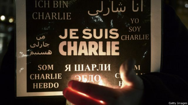 """Плакат: """"Я - Шарли Эбдо""""!"""