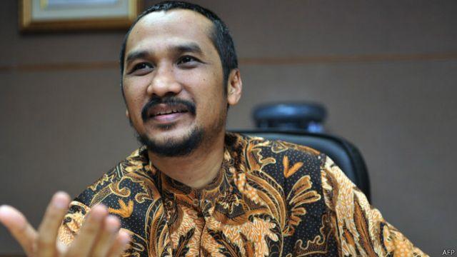 Ketua KPK Abraham Samad mengatakan keputusan penetapan tersangka BG sudah sejak lama