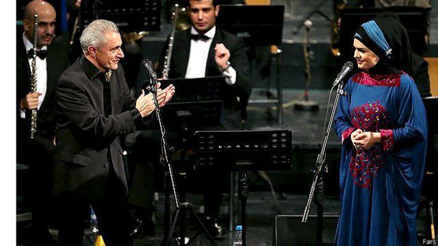 عالم قاسموف در شب آخر اجرا در تالار وحدت بدون دخترش خواند