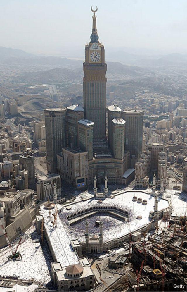 Rascacielos del hotel de la Mecca