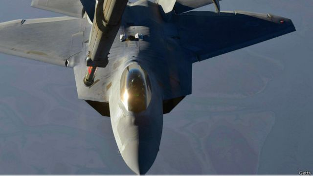 Un raptor F-22