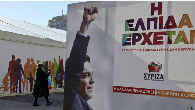 Afiche de Alexis Tsipras