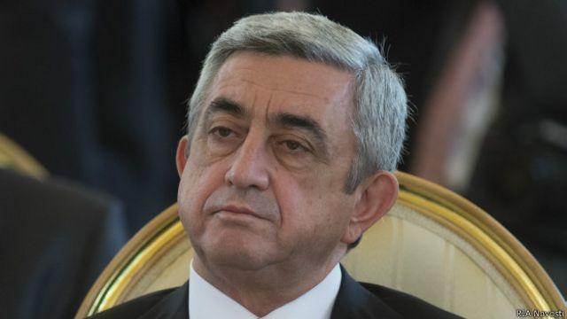 دومین دوره ریاست جمهوری سرژ سرکیسیان ۶۱ ساله، در سال ۲۰۱۸ به پایان میرسد