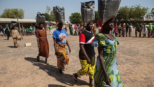 Mujeres nigerianas
