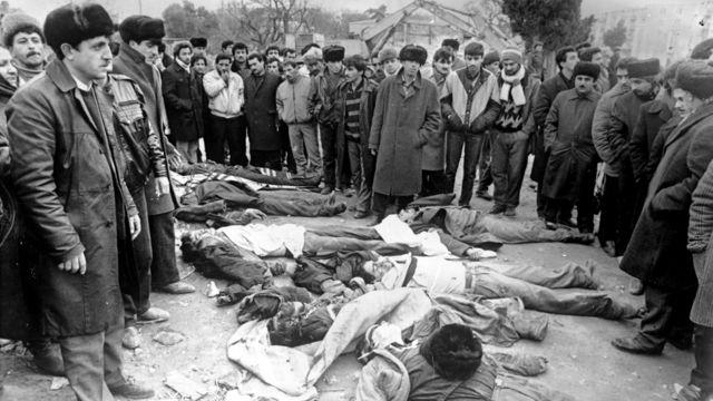 20 yanvar 1990 - 20 Yanvar poqromlarının qurbanları, Bakı.