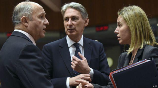 Министры иностранных дел ЕС