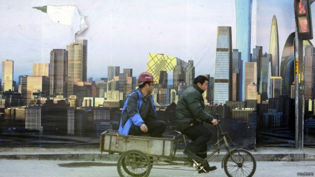 Trabajador en Pekin