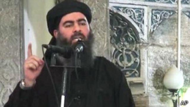 Líder de Estado Islámico, Abu Bakr al-Baghdadi