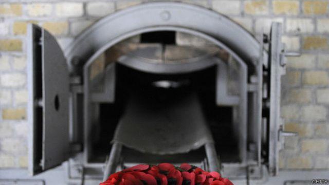 Crematório em Ravensbrück | Foto: Getty