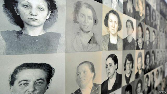 Mulheres de Ravensbrück | Foto: Getty