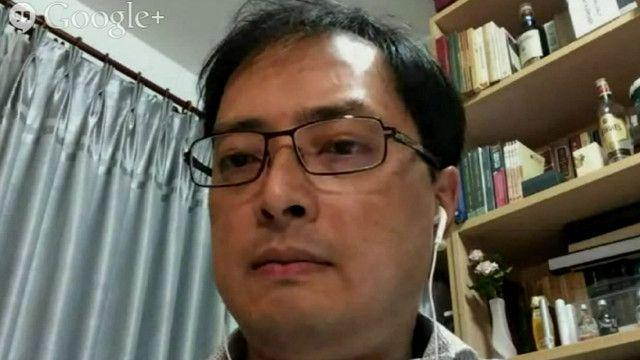 Luật sư Lê Công Định trong một lần tham dự thảo luận cùng BBC Tiếng Việt