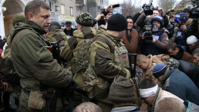 Александр Захарченко сказал, что войска ДНР готовы к наступлению