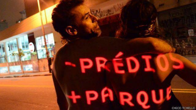 Incorporadoras Cyrela e Setin, proprietárias do terreno, pedem na justiça a saída dos ativistas