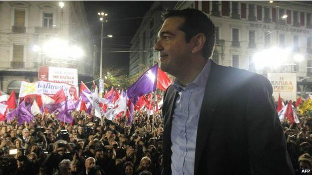 由其普拉斯領導的希臘激進左翼聯盟在名義調查中領先。