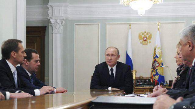 Владимир Путин сказал на Совете безопасности России, что украинский президент не ответил на его письмо