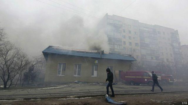 Попкорн (общество, политика) - Том LXV - Страница 5 150124150557_mariupol_shelling_624x351_epa