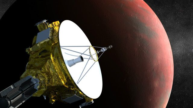Wahana New Horizons telah melakukan perjalanan selama sembilan tahun untuk mendekati planet Pluto.