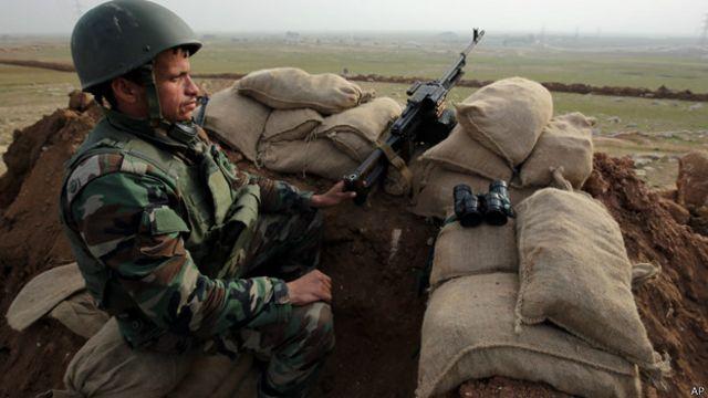 حققت قوات البيشمركة بعض التقدم في قتالها ضد داعش في الآونة الاخيرة