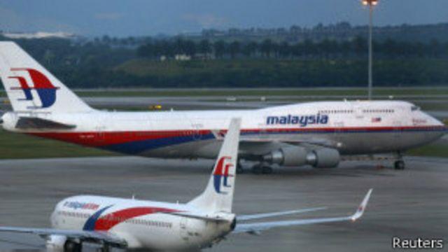 En cuatro meses ocurrieron dos accidentes de Malaysia Airlines.