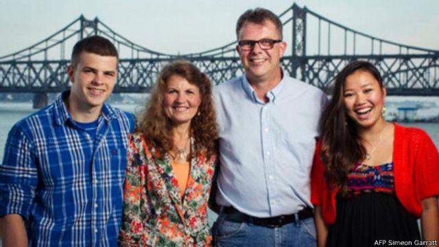 高凱文夫婦與家人資料照片