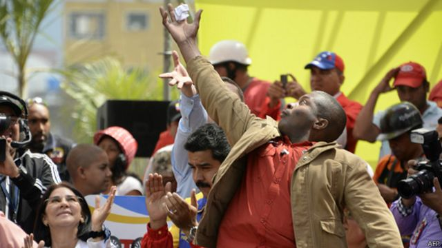 Escolta de Maduro
