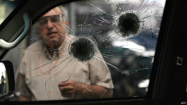 Blindados en Venezuela