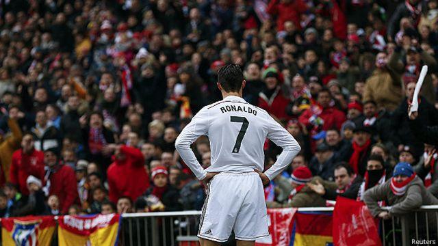 Cristiano Ronaldo mengoleksi 290 gol dan berada pada peringkat tiga daftar top skor Real Madrid sepanjang masa.