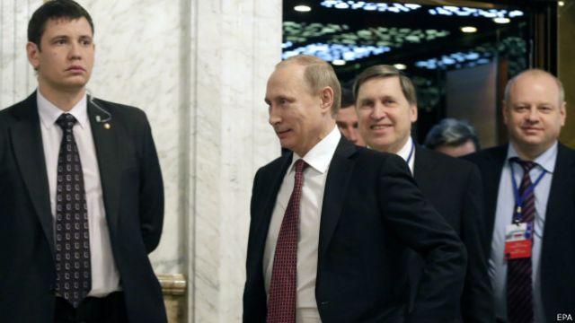 Путин первым рассказал об итогах переговоров