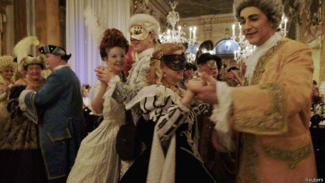 Carnaval de Veneza (Foto: Reuters)