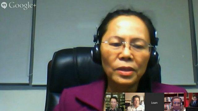 Tiến sỹ Phạm Thị Loan, nguyên Đại biểu Quốc hội Việt Nam cho rằng người dân VN đã bắt đầu 'biết nói lên tiếng nói' và 'đứng lên đòi quyền lợi' của mình.