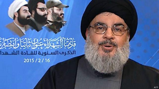 قال نصرالله إن لقواته حضورا محدودا في الصراع الدائر في العراق