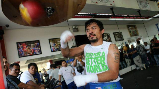 Pacquiao sebelumnya menolak melakukan tes obat-obatan terlarang