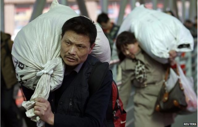 Мужчина с мешком