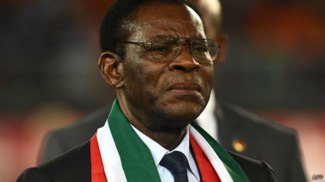 Teodoro Obiang Nguema governa o país há 35 anos