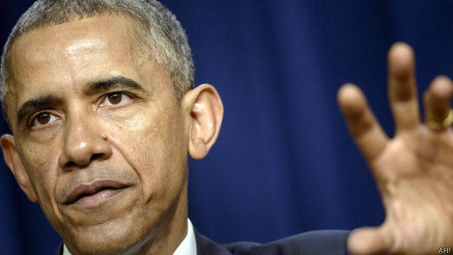 """قال الرئيس الأمريكي للمؤتمرين الذين يمثلون 60 بلدا """"إن الارهابيين لا يتكلمون بلسان مليار مسلم"""""""