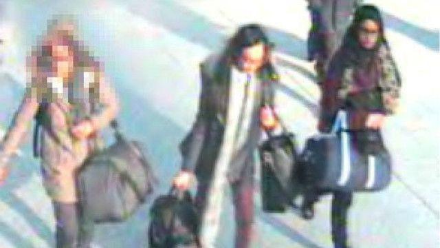 Tiga gadis remaja Inggris yang minggat untuk bergabung dengan ISIS di Suriah