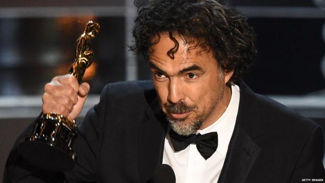 الخاندرو گونزالس ایناریتو سه بار برای گرفتن اسکار به روی صحنه رفت که مهمترین آن دریافت جایزه بهترین فیلم بود