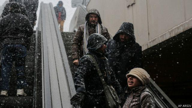 İstanbul'da kar yağışı geçen hafta hayatın durmasına neden oldu.