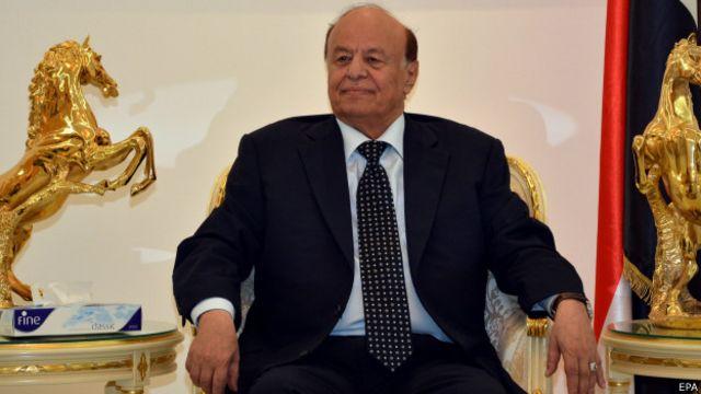 Aden'deki Devlet Başkanı Abdurrabu Mansur Hadi, Husilerle görüşmeler için önce Sana'da ev hapsinde tutulan hükümet üyelerinin serbest bıorakılmasını istiyor.