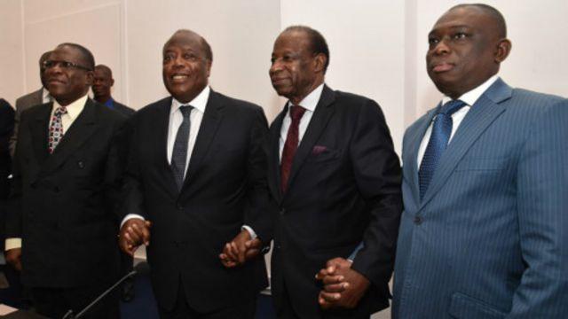 Brou, Banny, Essy et KKB continuent leur combat pour un candidat du PDCI à l'élection présidentielle.