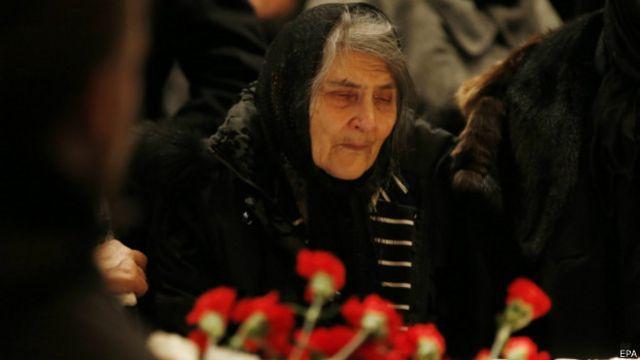 Мать Немцова Дина Эйдман