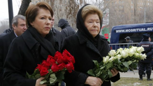 Татьяна Юмашева и Наина Ельцина