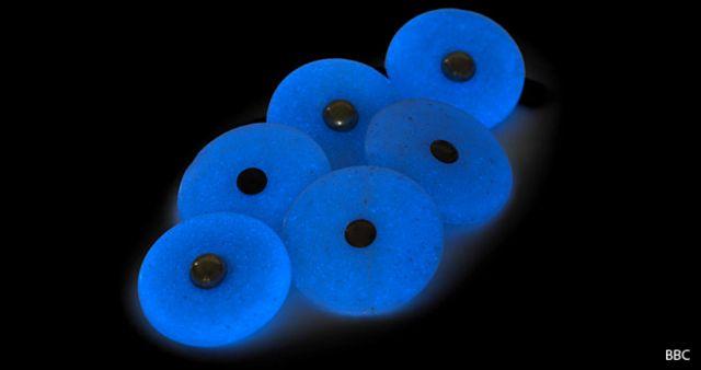 Botones fluorescentes