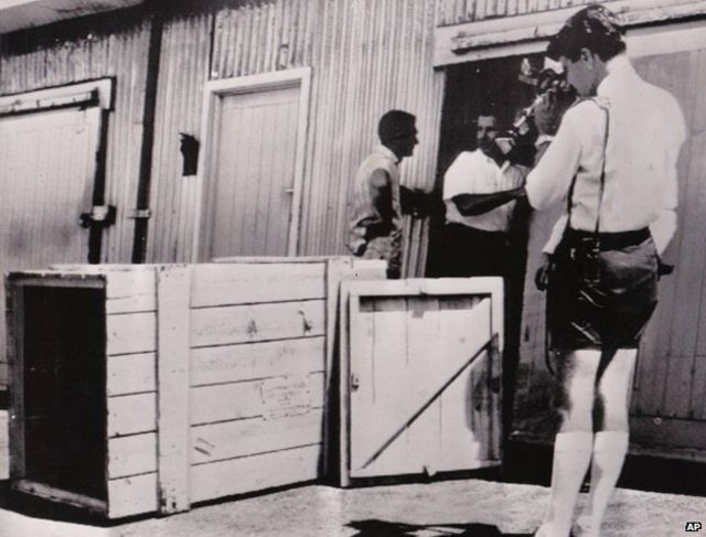 репортеры у ящика в Перте