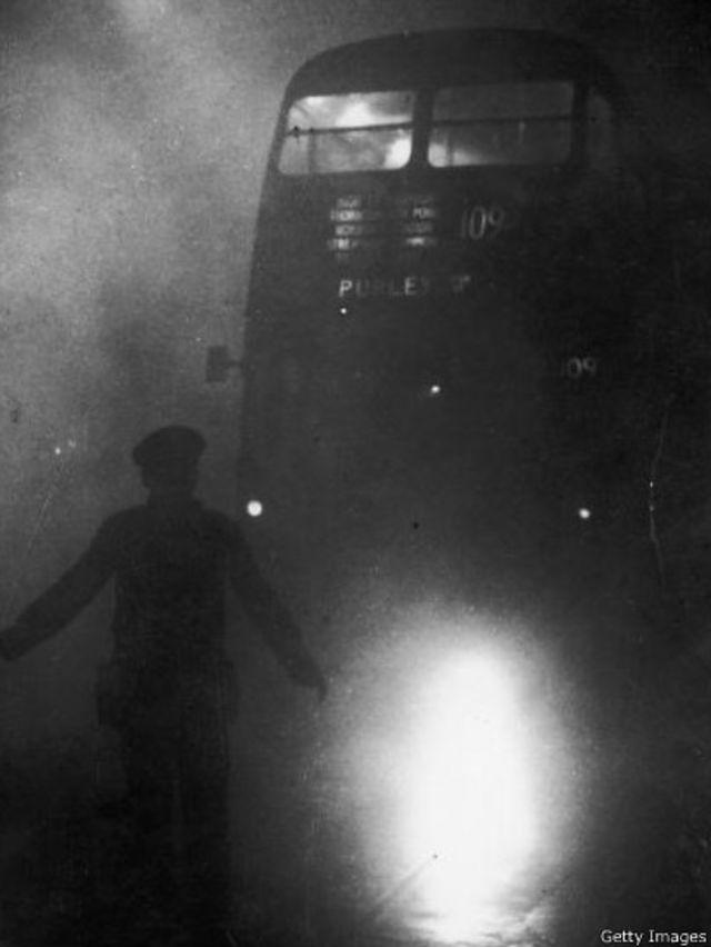 مه دود بزرگ لندن  ۱۹۵۲